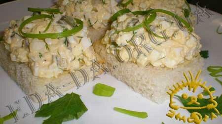 Кулинарные рецепты блюд с фото - Яичный салат, Фото 10