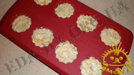 Кулинарные рецепты блюд с фото - Маффины сырные, пошаговое фото 7