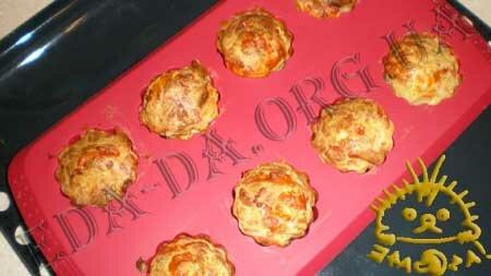 Кулинарные рецепты блюд с фото - Маффины сырные, пошаговое фото 8