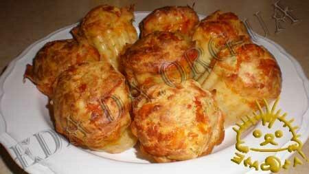 Кулинарные рецепты блюд с фото - Маффины сырные, пошаговое фото 9