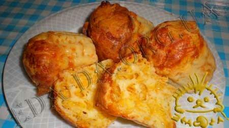 Кулинарные рецепты блюд с фото - Маффины сырные. Нажать для увеличения.