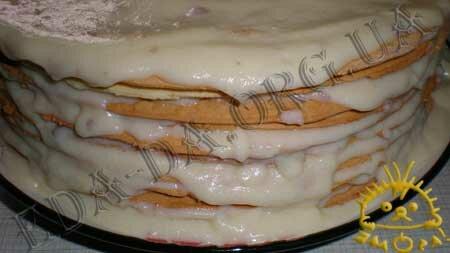 Кулинарный мастер класс - Торт Наполеон, шаг 6