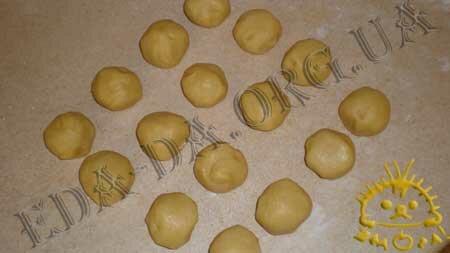 Кулинарные рецепты блюд с фото - Новогоднее печенье с начинкой, пошаговое фото 7