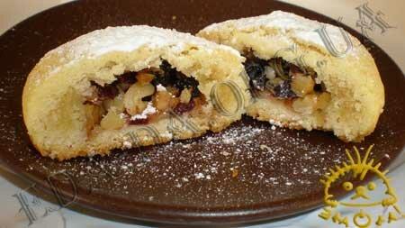 Кулинарные рецепты блюд с фото - Новогоднее печенье с начинкой. Нажать для увеличения.