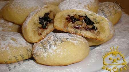 Кулинарные рецепты блюд с фото - Новогоднее печенье с начинкой, пошаговое фото 12