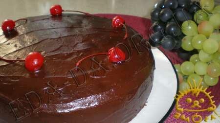 Кулинарные рецепты с фото - Торт Пьяная вишня. Нажать для увеличения.