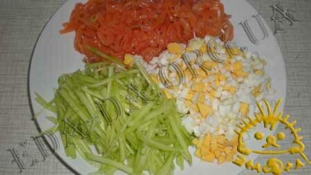 Кулинарные рецепты с фото - Сырные корзиночки со слабосоленой семгой, Фото 5