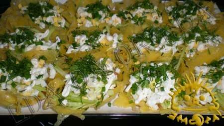 Кулинарные рецепты с фото - Сырные корзиночки со слабосоленой семгой, Фото 12