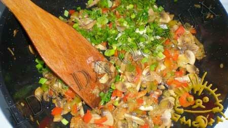 Кулинарные рецепты блюд с фото - Корзиночки с грибами и овощами, пошаговое фото 6
