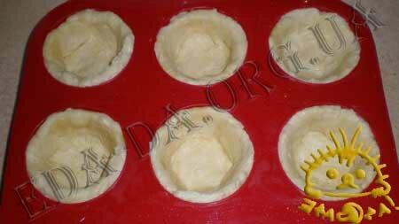 Кулинарные рецепты блюд с фото - Корзиночки с грибами и овощами, пошаговое фото 9