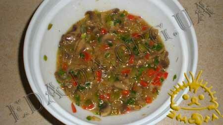 Кулинарные рецепты блюд с фото - Корзиночки с грибами и овощами, пошаговое фото 13