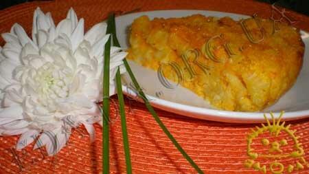 Кулинарные рецепты с фото - Запеканка из тыквы и макарон. Нажать для увеличения.