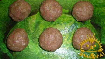 Кулинарный мастер класс - Тефтели с сюрпризом, шаг 8