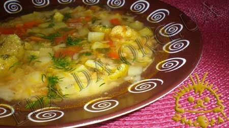 Кулинарные рецепты с фото - Овощной суп с чечевицей, Фото 13