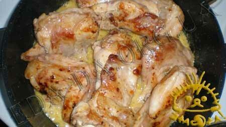 Кулинарные рецепты блюд с фото - Кролик в горчично-сливочном соусе, пошаговое фото 10