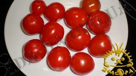 Кулинарные рецепты с фото - Слоечки с фаршированными помидорами черри, Фото 4