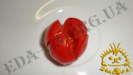 Кулинарные рецепты с фото - Слоечки с фаршированными помидорами черри, Фото 5