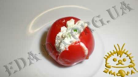 Кулинарные рецепты с фото - Слоечки с фаршированными помидорами черри, Фото 8