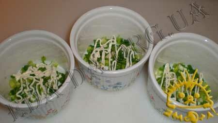 Кулинарный мастер класс - Салат с печенью трески, шаг 3