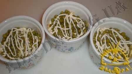 Кулинарный мастер класс - Салат с печенью трески, шаг 6