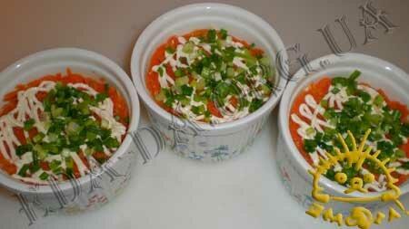 Кулинарный мастер класс - Салат с печенью трески, шаг 7