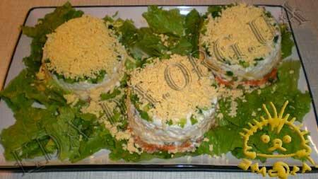 Кулинарный мастер класс - Салат с печенью трески, шаг 10