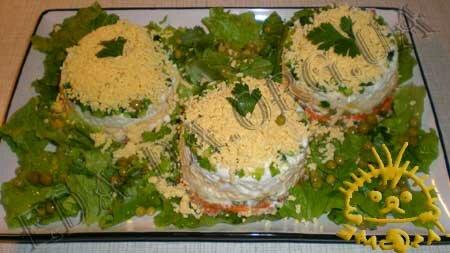 Кулинарный мастер класс - Салат с печенью трески, шаг 11