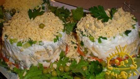 Кулинарный мастер класс - Салат с печенью трески, шаг 12