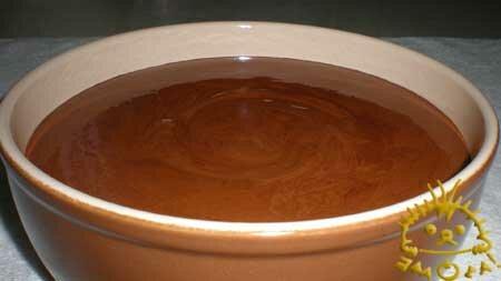 Кулинарный мастер класс - Шоколадный мусс. Нажать для увеличения фотографии.