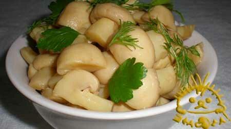 Кулинарный мастер класс - Маринованные шампиньоны. Нажать для увеличения фотографии.